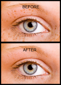 photo retouch example
