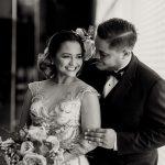 wedding photo editing high contrast effect