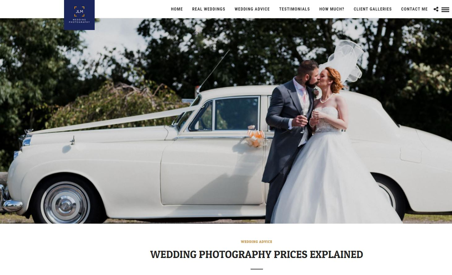 wedding photo prices explained